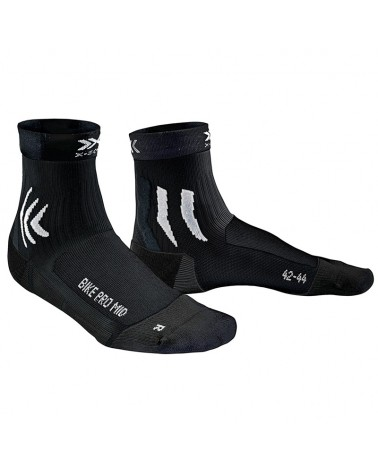 X-Bionic X-Socks Bike Pro Mid Socks, Opal Black