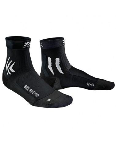 X-Bionic X-Socks Bike Pro Mid Calze Ciclismo, Opal Black