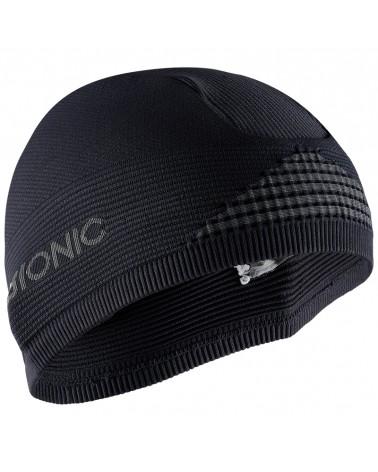 X-Bionic Helmet Cap 4.0 Sottocasco, Black/Charcoal