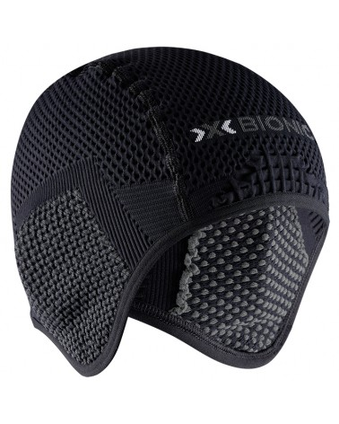 X-Bionic Bondear Cap 4.0 Sottocasco, Black/Charcoal