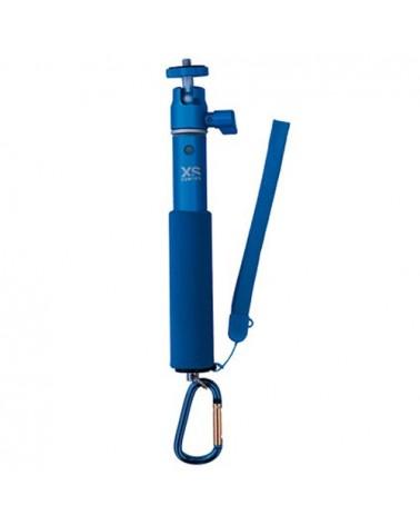 XSories Racchetta U-Shot Asta Telescopica Per Action Camera, Blu
