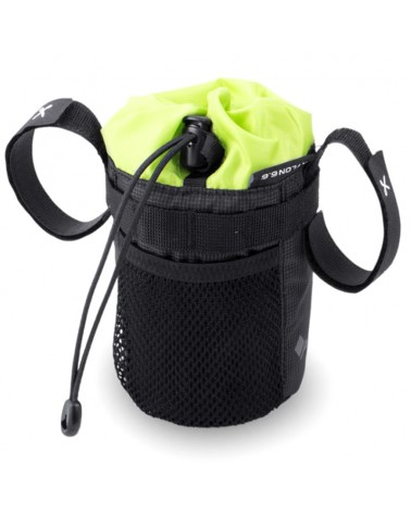 Acepac Bike Bottle Bag Portaborraccia, Nero