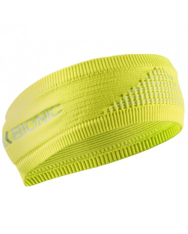 X-Bionic Headband 4.0 Fascia Testa Invernale, Phyton Yellow/Arctic White