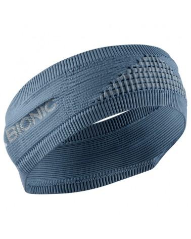 X-Bionic Headband 4.0, Bluestone/Dolomite Grey