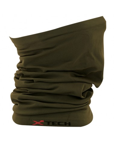 XTech X-Tube Multipurpose Neck Warmer, Green (One Size)