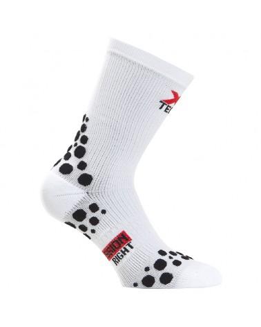 XTech XT152 Ciclyng Socks, White