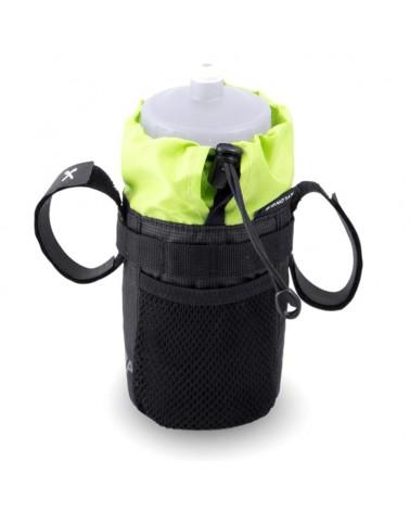 Acepac Bike Bottle Bag Portaborraccia, Nero