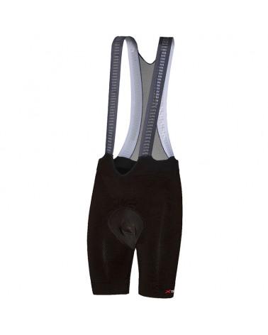 XTech Rise Men's Cycling Bib Shorts, Black
