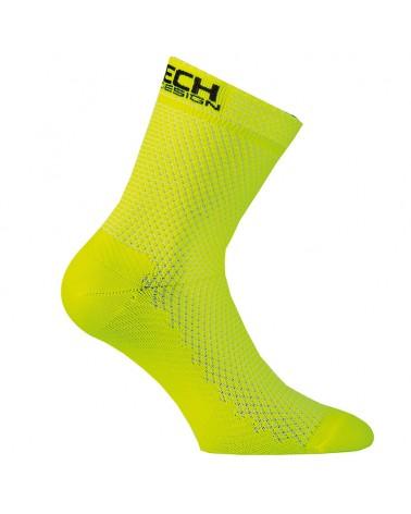 XTech Calze Ciclismo XT87, Yellow