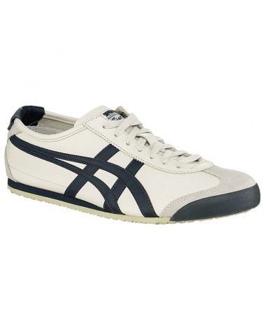 Onitsuka Tiger Mexico 66 Shoes, Birch/India Ink/Latte