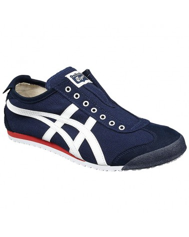 Onitsuka Tiger Mexico 66 Slip-On Shoes, Navy/Off-White