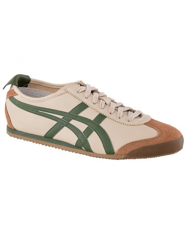 Onitsuka Tiger Mexico 66 Shoes, Beige/Grass Green