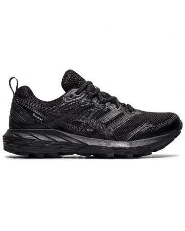 Asics Gel-Sonoma 6 GTX Gore-Tex Women's Trail Running Shoes, Black/Black