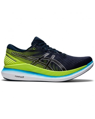 Asics GlideRide 2 Men's Running Shoes, French Blue/Hazard Green