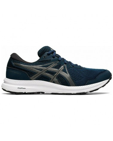 Asics Gel-Contend 7 Scarpe Running Uomo, French Blue/Gunmetal