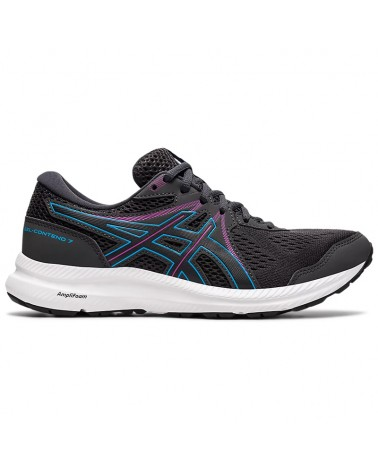 Asics Gel-Contend 7 Scarpe Running Donna, Graphite Grey/Digital Aqua