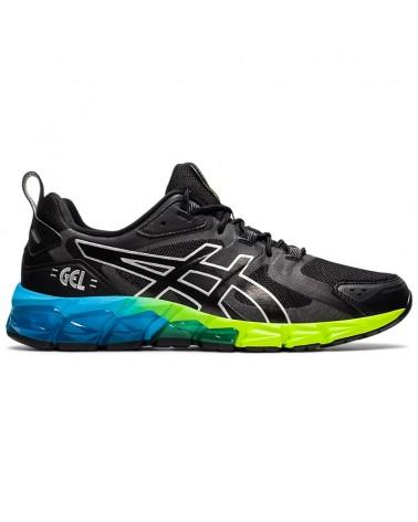 Asics Gel-Quantum 180 6 Men's Running Shoes, Black/Aizuri Blue