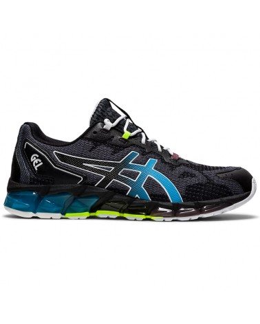 Asics Gel-Quantum 360 6 Men's Running Shoes, Black/Aizuri Blue