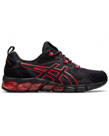 Asics Gel-Quantum 180 Men's Running Shoes, Black/Classic Red