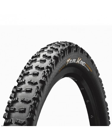 Continental Trail King 2.4 ProTection Apex 27.5x2.4 Folding Tyre, Black/Black