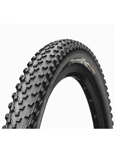 Continental Cross King 2.2 RaceSport 27.5x2.2 Folding Tyre, Black/Black Skin