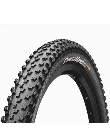 Continental Cross King II 2.2 Performance 29x2.2 Folding Tyre, Black/Black Skin