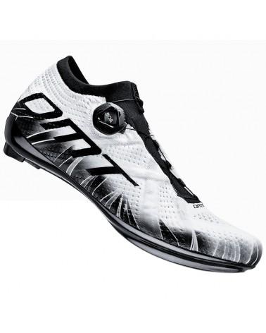 DMT KR1 Men's Road Cycling Shoes, White/Black