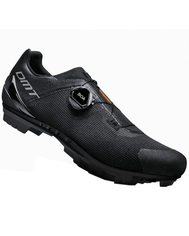 DMT KM4 Men's MTB XC/Marathon Cycling Shoes, Black/Black