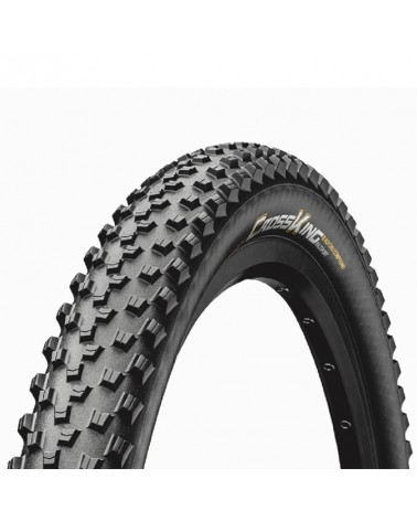 Continental Cross King 2.2 RaceSport 29x2.2 Folding Tyre, Black/Black Skin