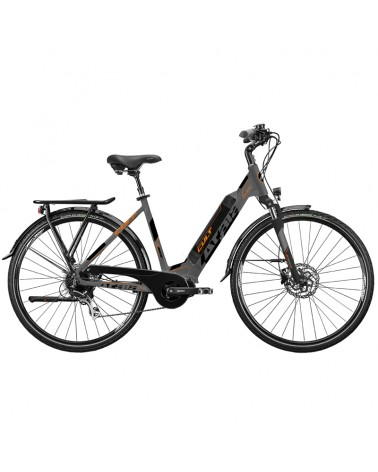 "Atala e-Bike Cult 8.1 28"" 8v 250W 504Wh Taglia 45, Anthracite/Orange Matt"