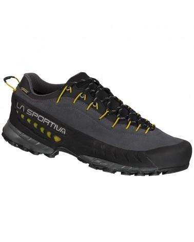 La Sportiva TX4 GTX Gore-Tex Men's Approach Shoes, Carbon/Kiwi