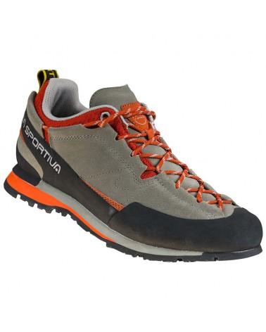 La Sportiva Boulder X Men's Approach Shoes, Clay/Saffron