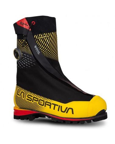 La Sportiva G5 Evo Scarponi Alpinismo Uomo, Black/Yellow