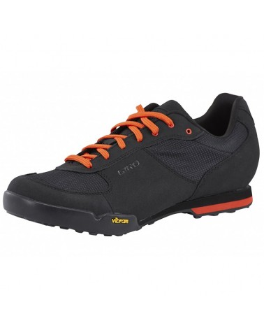 Giro Scarpe MTB Rumble VR, Black/Glowing Red