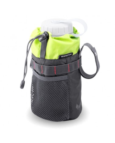 Acepac Fat Bottle Bag Tritan 1 Liter Compatible, Grey