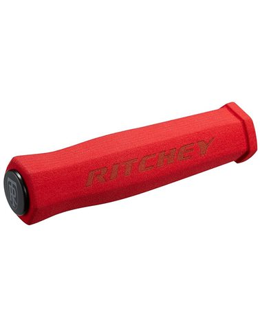 Ritchey WCS TrueGrip Manopole 125mm, Rosso