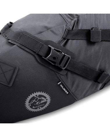 Acepac Saddle Bag Variable Volume 8/16 Liters, Black