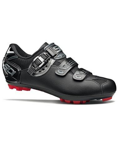 Sidi Eagle 7 SR Mega Men's MTB Cycling Shoes Size EU 42, Shadow Black