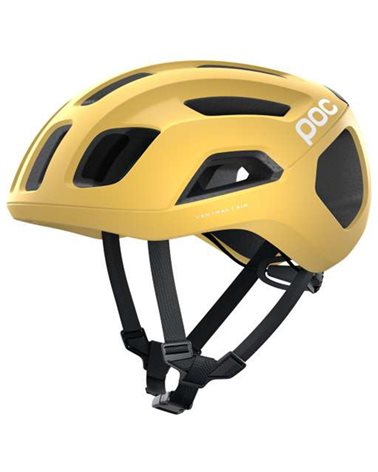 Poc Ventral Air Spin Road Cycling Helmet, Sulfur Yellow Matt