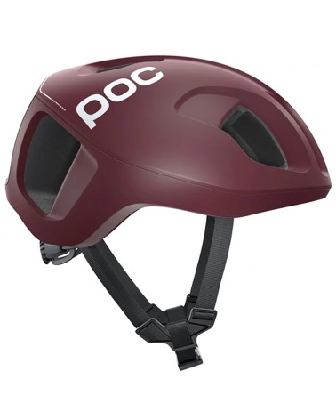 Poc Ventral Spin Road Cycling Helmet, Propylene Red Matt