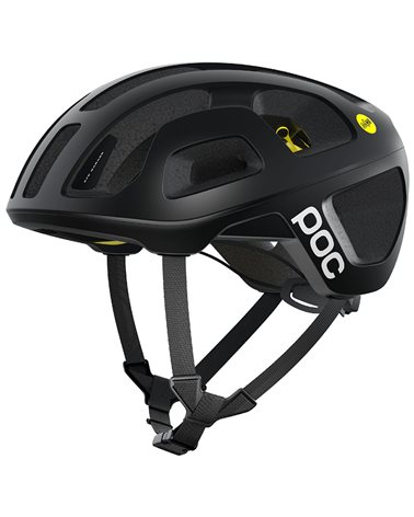 Poc Octal MIPS Road Cycling Helmet, Uranium Black Matt
