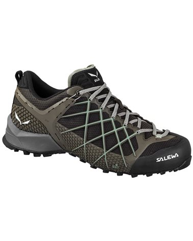 Salewa MS Wildfire Men's Approach Shoes, Black Olive/Siberia