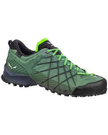 Salewa MS Wildfire GTX Gore-Tex Men's Approach Shoes, Myrtle/Fluo Green
