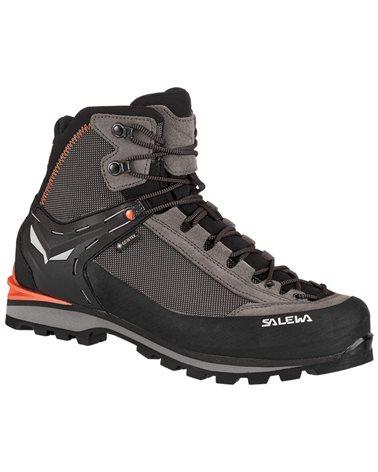 Salewa MS Crow GTX Gore-Tex Men's Trekking Boots, Wallnut/Fluo Orange