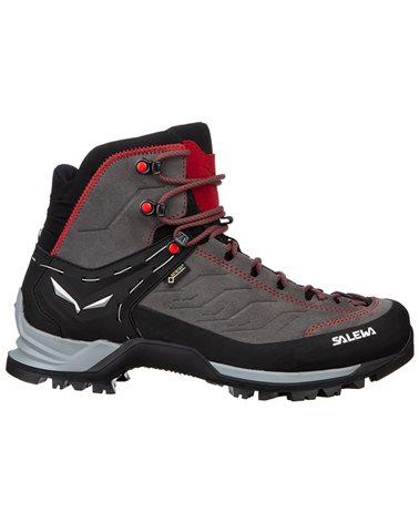 Salewa MTN Trainer Mid GTX Gore-Tex MS Men's Trekking Boots, Charcoal/Papavero