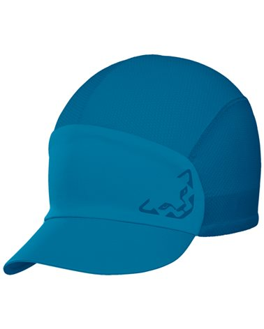 Dynafit React Visor Cap Cappellino con Visiera, Mykonos Blue/8960