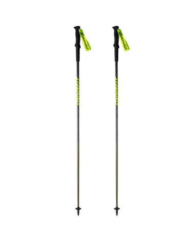 Dynafit Elevation Pro Bastoncini da Trekking 125cm, Black Out/Camo (Coppia)