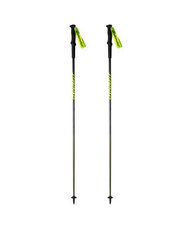 Dynafit Elevation Pro Bastoncini da Trekking 125cm, Black Out/Camo (Coppia)