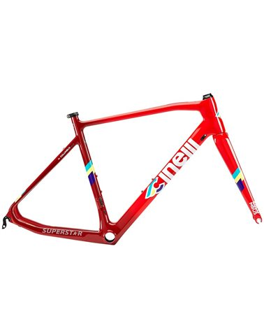 Cinelli Superstar Frameset, Red Hot