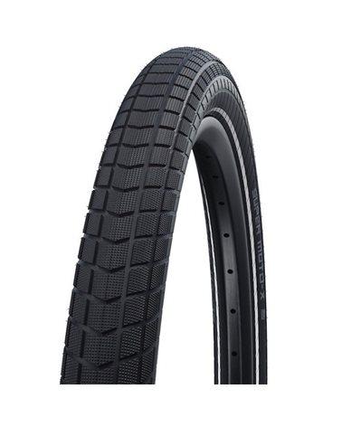Schwalbe Super Moto-X 27.5x2.40 HS439 Addix DD GreenGuard Rigid Tyre, Black/Reflex